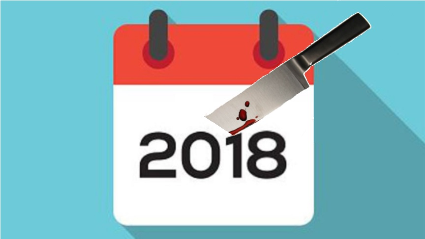 All I Needed for 2018 was a Knife and a Heart Emoji | Scoundrel Time